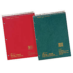 National Brand Porta Desk Notebook 8