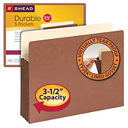 Smead Expanding File Pocket With Tyvek