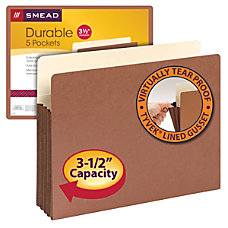 Smead Expanding File Pockets With Tyvek