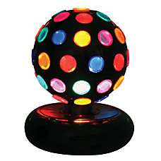 Lumisource Multicolor Rotating Disco Ball 9