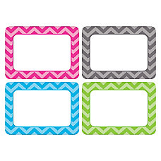 Teacher Created Resources Chevron Name Tags