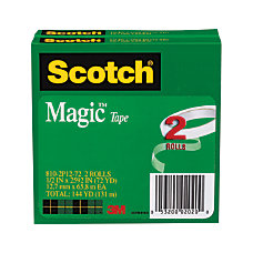 Scotch Magic 810 Tape 12 x