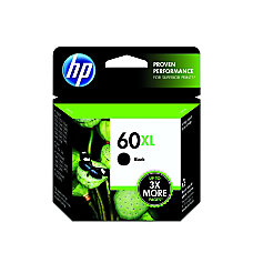 HP 60XL 50percent Recycled Black Original