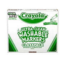 Crayola Ultra Clean Washable Color Markers
