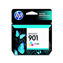HP 901 50percent Recycled Tricolor Original