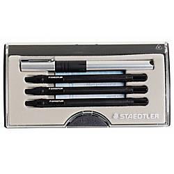 Staedtler® Mars® Professional 4-Pen Set, Black