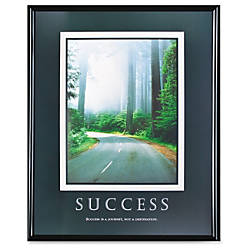 Advantus Motivational Prints Success Framed Print