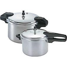 Mirro Pressure Cooker 22 Quarts Silver