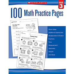 Scholastic Teacher Resources Math Practice Pages