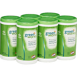 Green Works Cleaning Wipes Citrus Scent