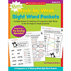 Scholastic Teacher Resources MORE Week By