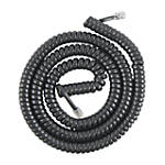 GE Phone Coil Cord 12 Black