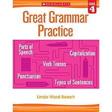 Scholastic Teacher Resources Great Grammar Practice