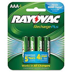 Rayovac Recharge Plus AAA Batteries AAA