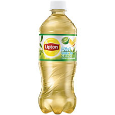 Lipton Diet Citrus Green Tea Bottle