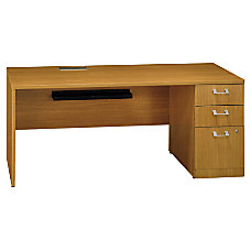 BBF Quantum Right Credenza With Pedestal