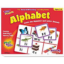 TREND Match Me Puzzle Game Alphabet