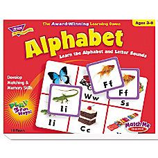 TREND Match Me Puzzle Game Alphabet