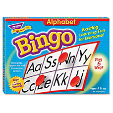 Trend Bingo Game Alphabet