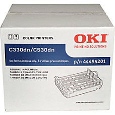 Oki Data 44494201 Black Drum Cartridge