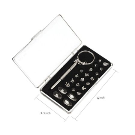 Eyeglass Repair Kit Home Depot : Pure Style Deluxe Glasses Repair Kit 38 Pieces Clear ...