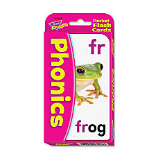Trend Phonics Pocket Flash Cards