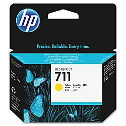 HP 711 Yellow Ink Cartridge CZ132A