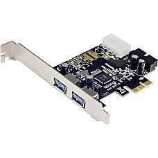 SYBA Multimedia USB 30 2 port