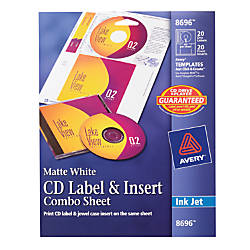 Cd Labels At Office Depot Officemax