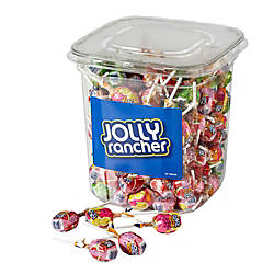 Jolly Rancher Lollipops 55 Lb Canister