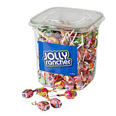 Jolly Rancher Lollipops 55 Lb Canister