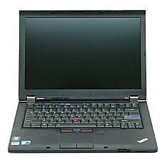 Lenovo Refurbished ThinkPad Laptop Computer With