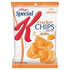 Special K Cracker Chips Cheddar Cheese