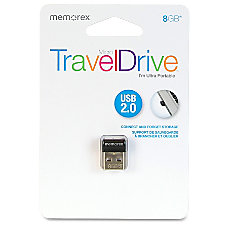 Memorex 8GB Micro TravelDrive USB 20