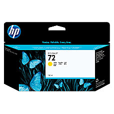 HP 72 Yellow Ink Cartridge C9373A