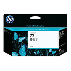 HP 72 Gray Ink Cartridge C9374A