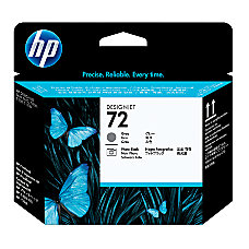 HP 72 GrayPhoto Black Printhead C9380A