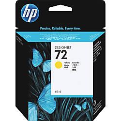 HP 72 Yellow Ink Cartridge C9400A