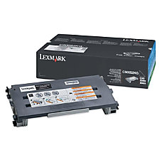 Lexmark C500S2KG Black Toner Cartridge