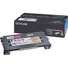Lexmark Magenta Toner Cartridge Magenta Laser