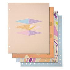 Divoga 2 Pocket Paper Folder Whimsical