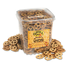 Office Snax Hansels Gretzels Graham Cracker