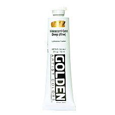 Golden Acrylic Paint 2 Oz Iridescent