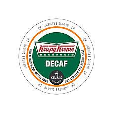 Krispy Kreme Doughnuts Decaffinated Coffee K