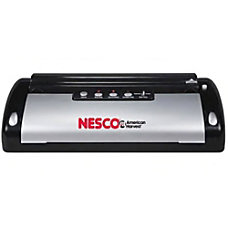 Nesco Vacuum Sealer Black