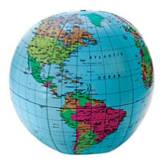 Learning Resources Inflatable World Globe 12