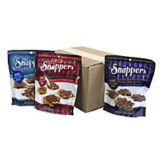 Snappers Gourmet Pretzels Variety Case 6