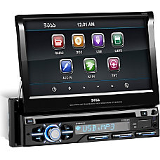 Boss Audio BV9977 Single DIN 7