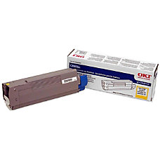 Oki Yellow Toner Cartridge Laser 6000