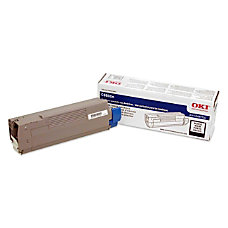 Oki Black Toner Cartridge Laser 6000